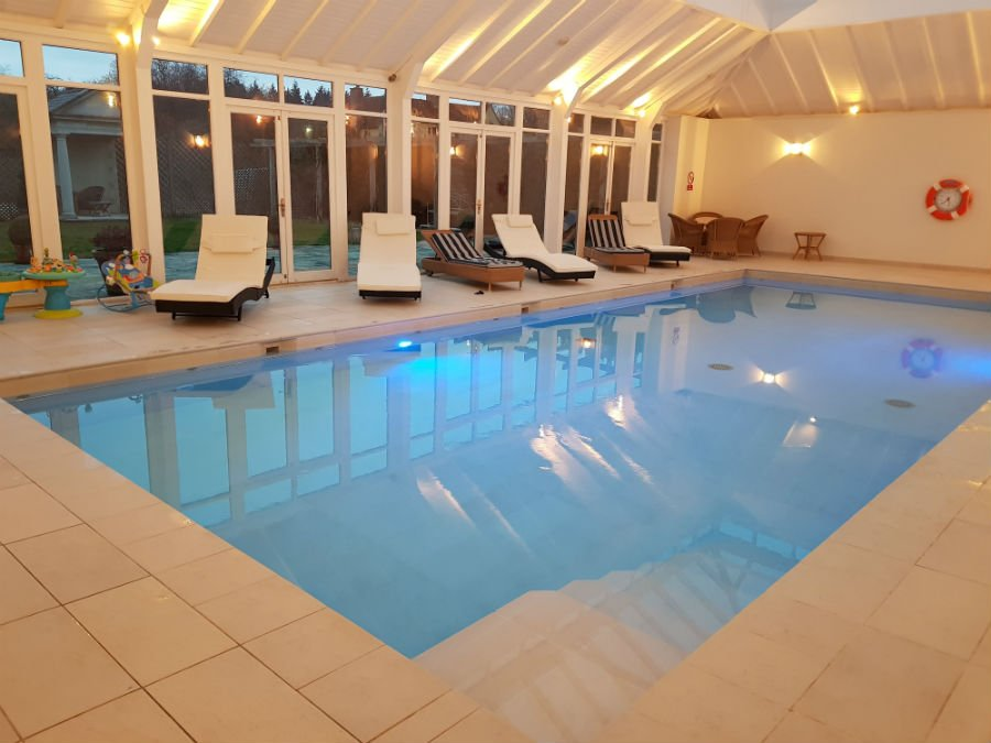 Swimming Pool at Bruern Cottages
