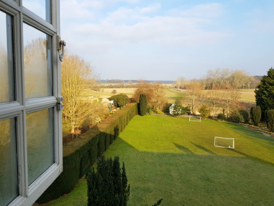 View from Bruern Cottages