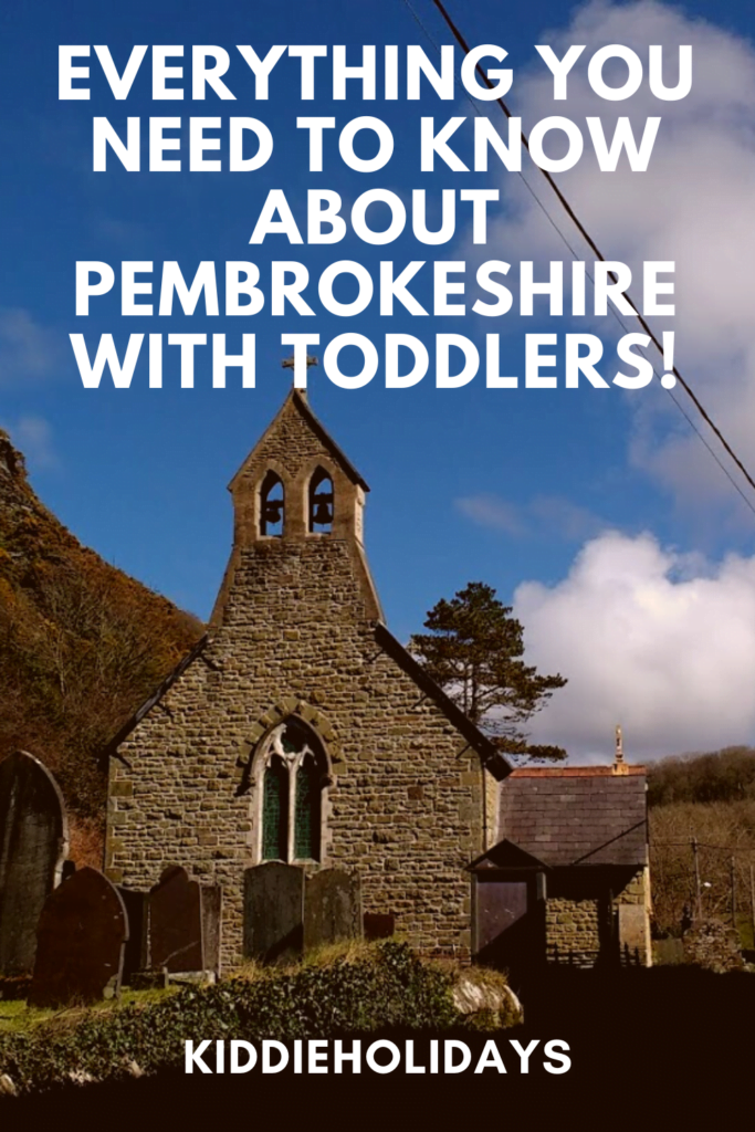 pembrokeshire with toddlers