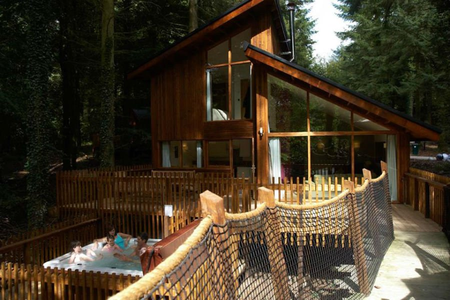 Treehouse at Forest Holidays
