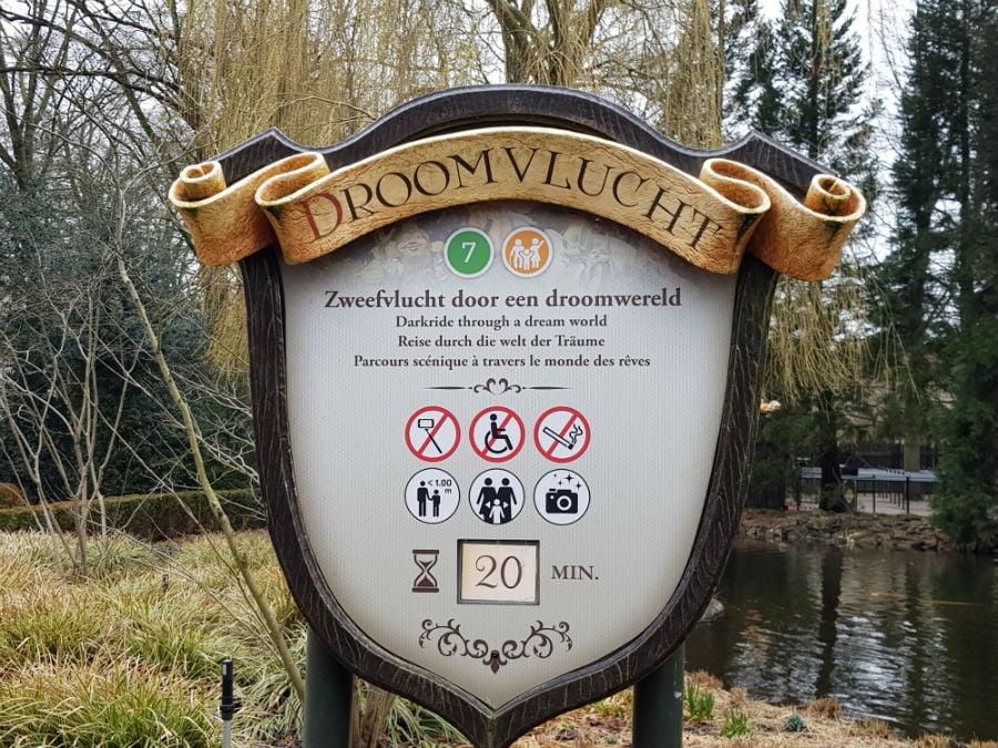 Droomvulcht at Efteling theme park