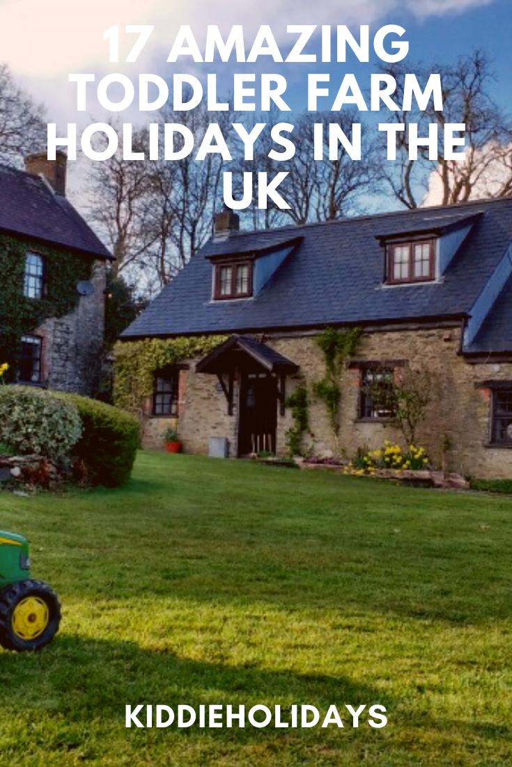 toddler farm holidays uk