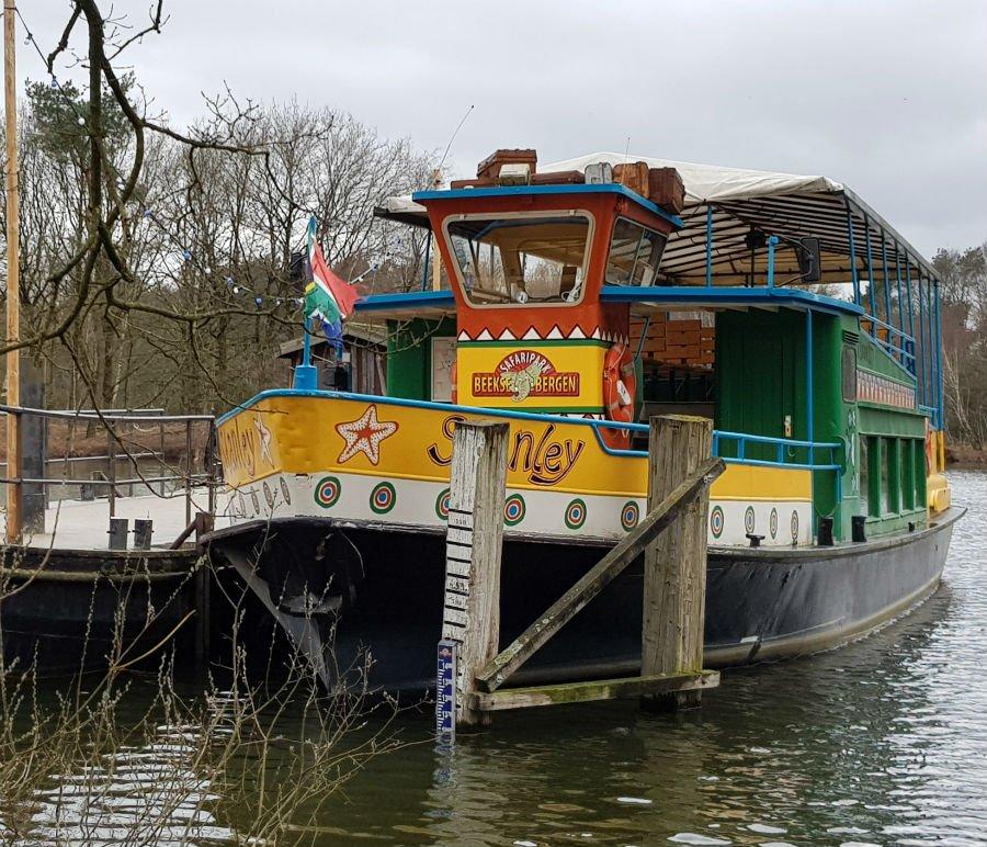 Safari Boat at Beekse Bergen Holiday Park