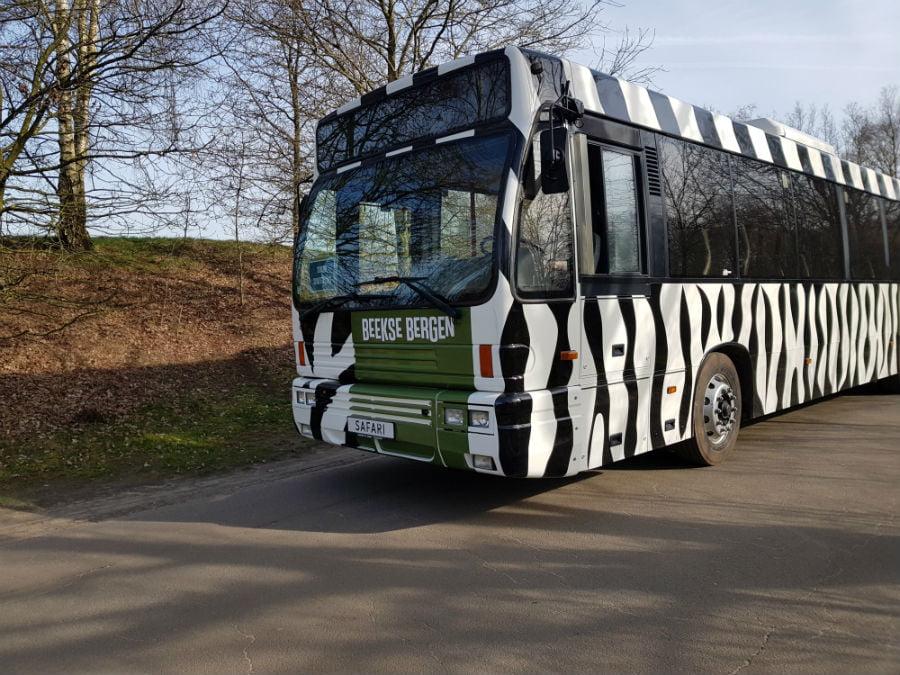 Safari Bus at Beekse Bergen