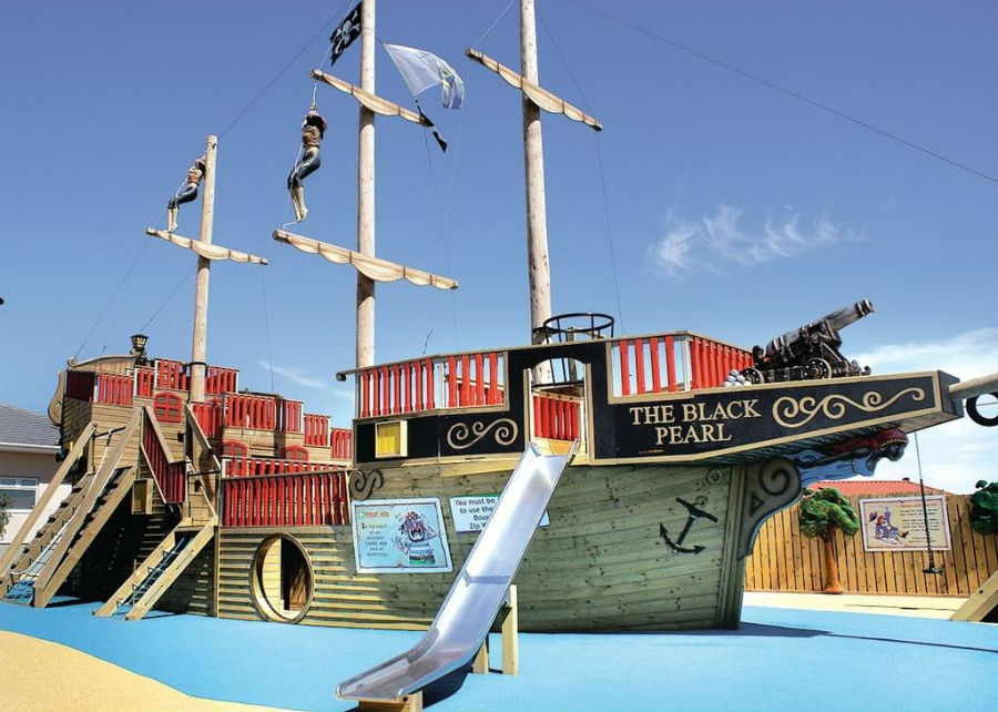 holiday park for toddlers in Cornwall