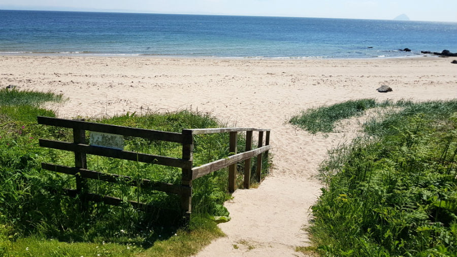 beach 4 arran