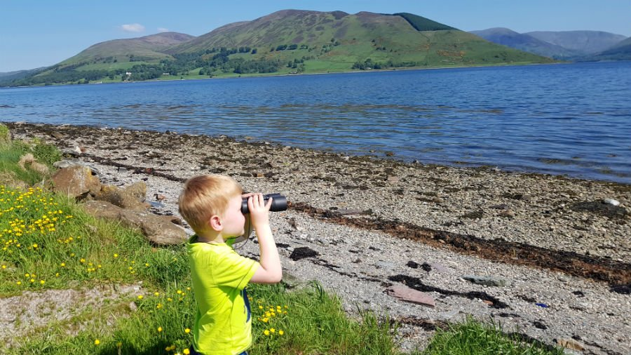 Scottish islands with toddlers