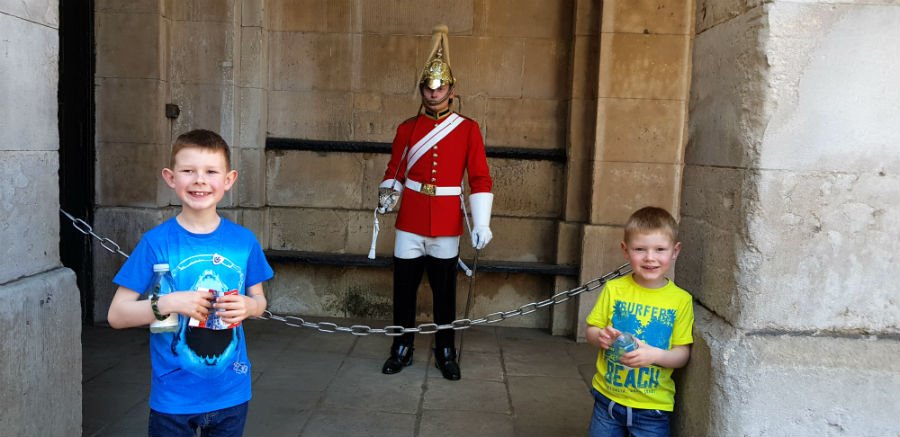 London with toddlers