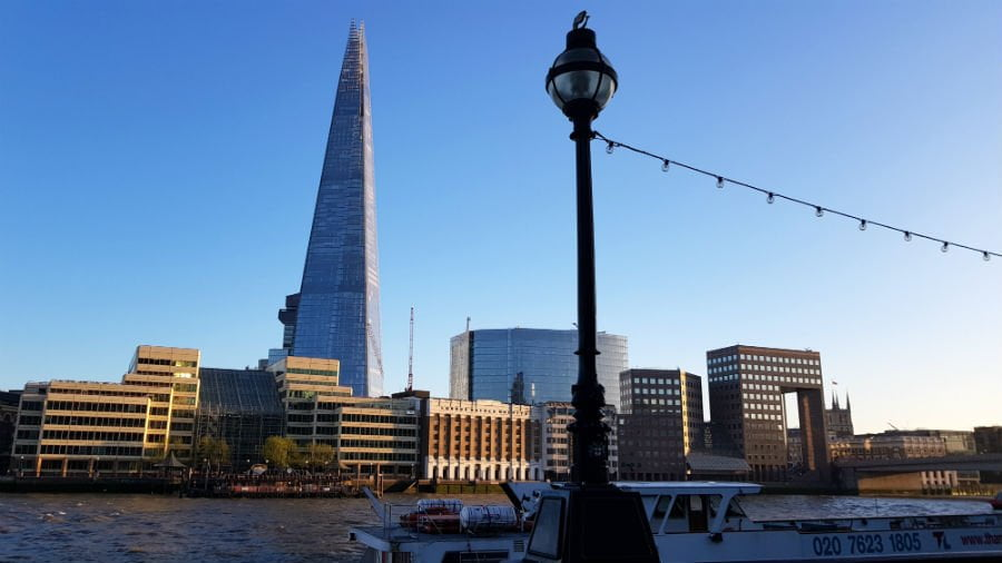 A weekend in London with toddler