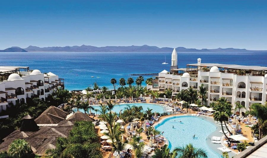luxury baby and toddler friendly hotel in lanzarote