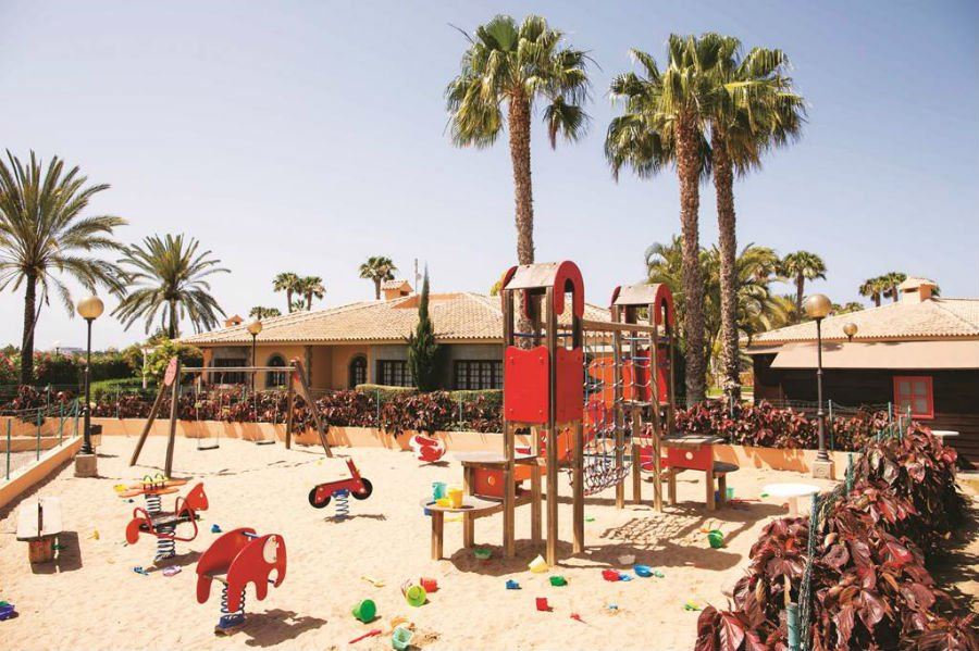 place to stay with toddlers in gran canaria