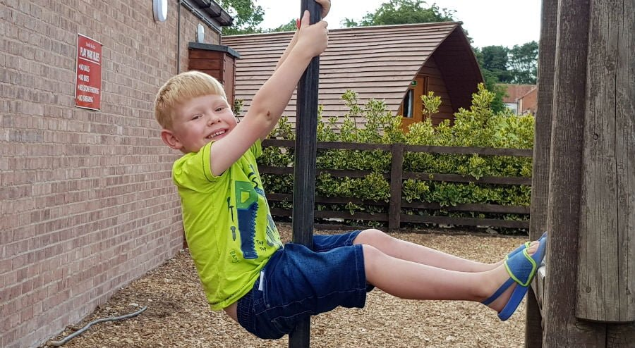 Glamping with toddlers in yorkshire
