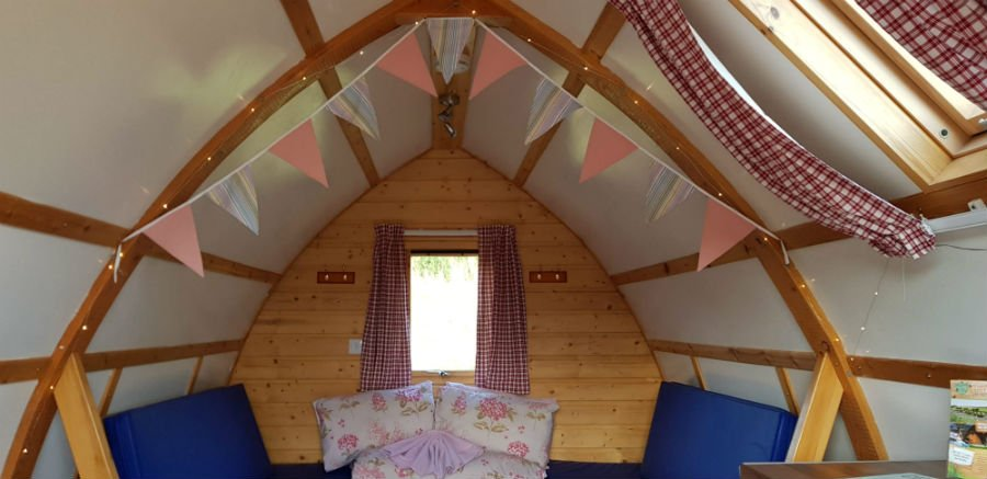 Toddler Friendly Wigwam Yorkshire