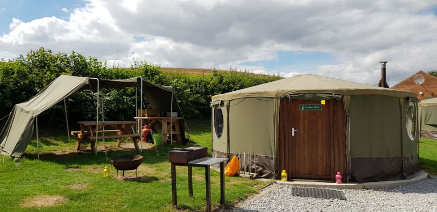 Family Friendly Glamping Yorkshre