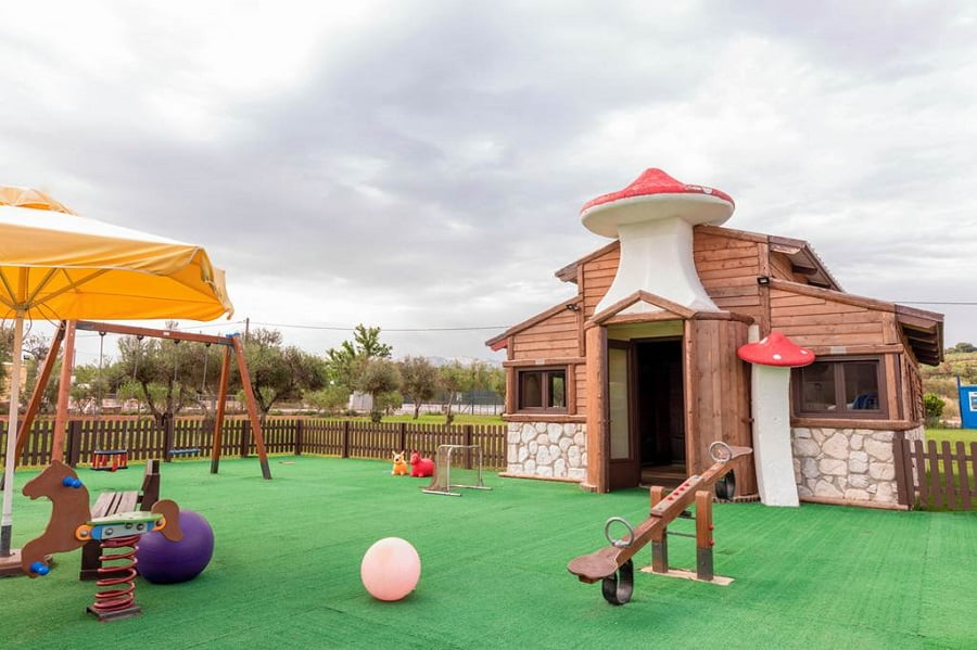 hotels for babies and toddlers in crete