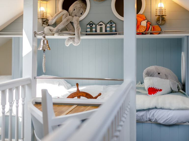 quirky toddler friendly cottage