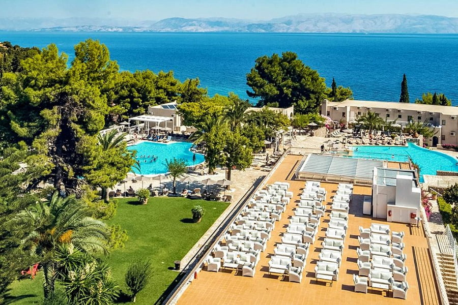 hotels for babies and toddlers in corfu