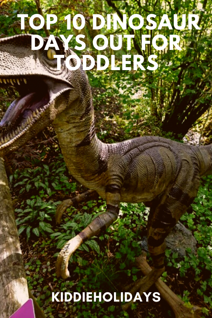 best days out for dinosaur loving toddlers