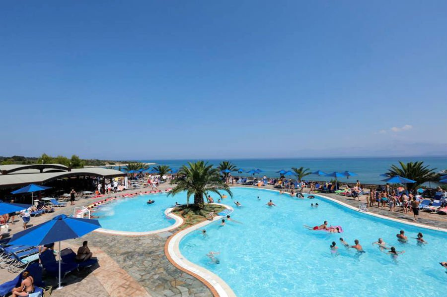 hotel for babies and toddlers in corfu
