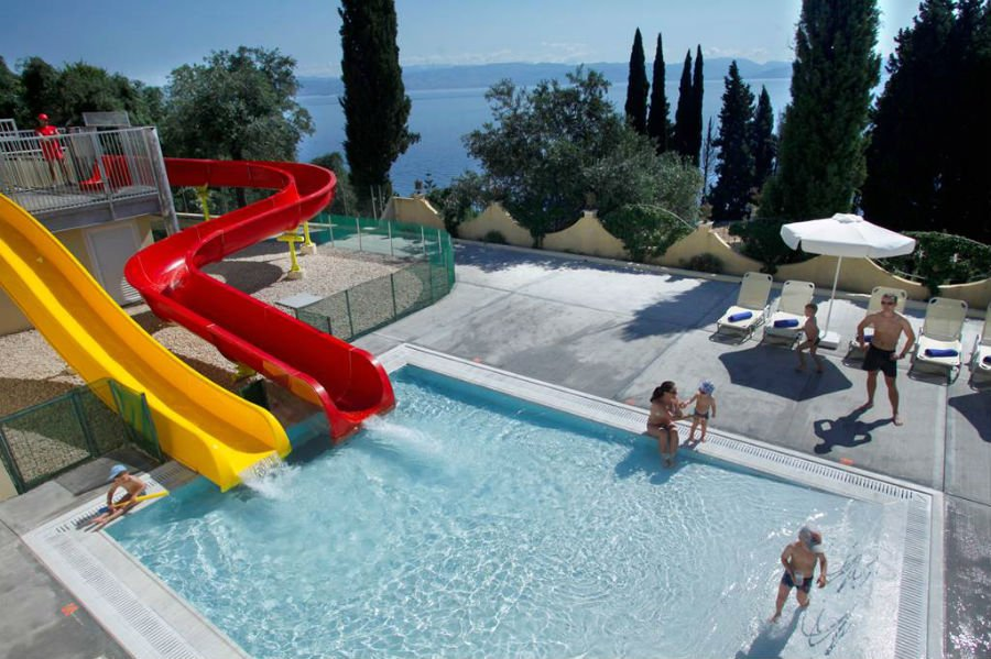 toddler friendly hotel in corfu