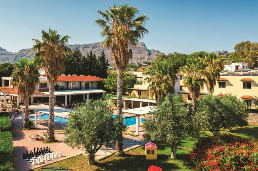 hotel for babies and toddler in rhodes