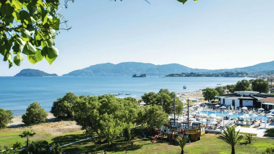 place to stay with babies and toddlers in zante