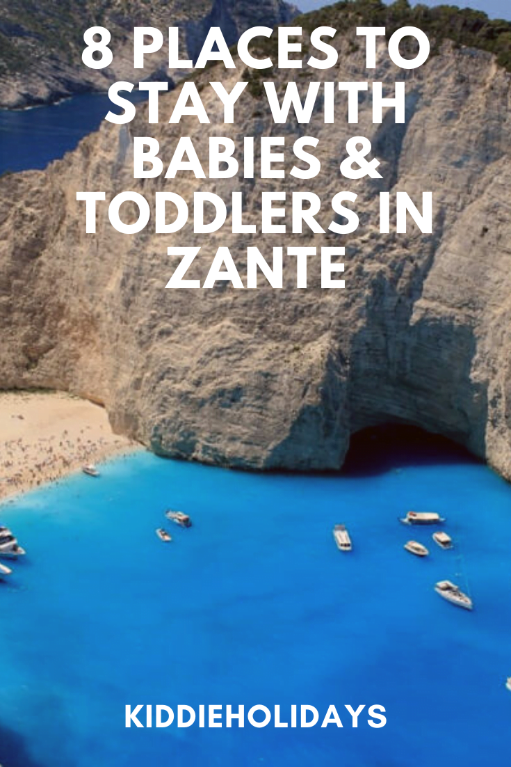baby and toddler friendly place to stay in zante