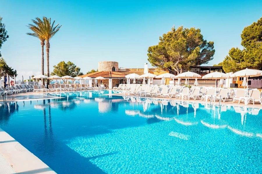 hotel for babies and toddlers in ibiza