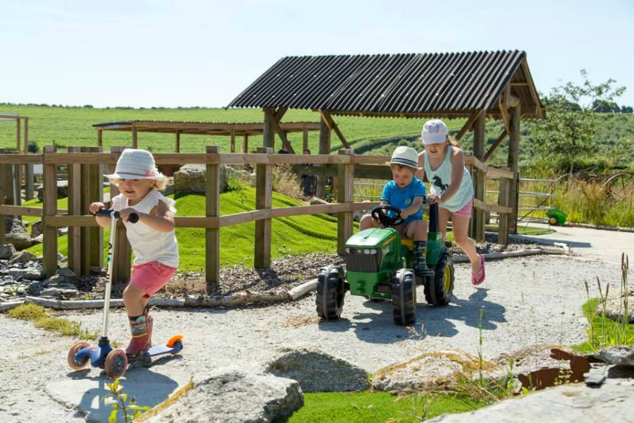 cottage for babies and toddlers in cornwall