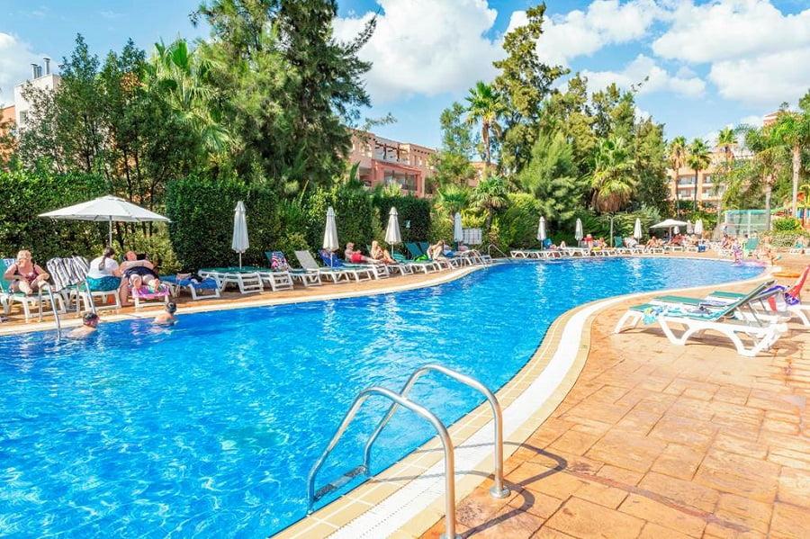 hotels with splash park