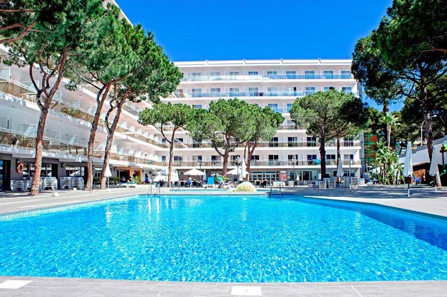 hotel with splash park