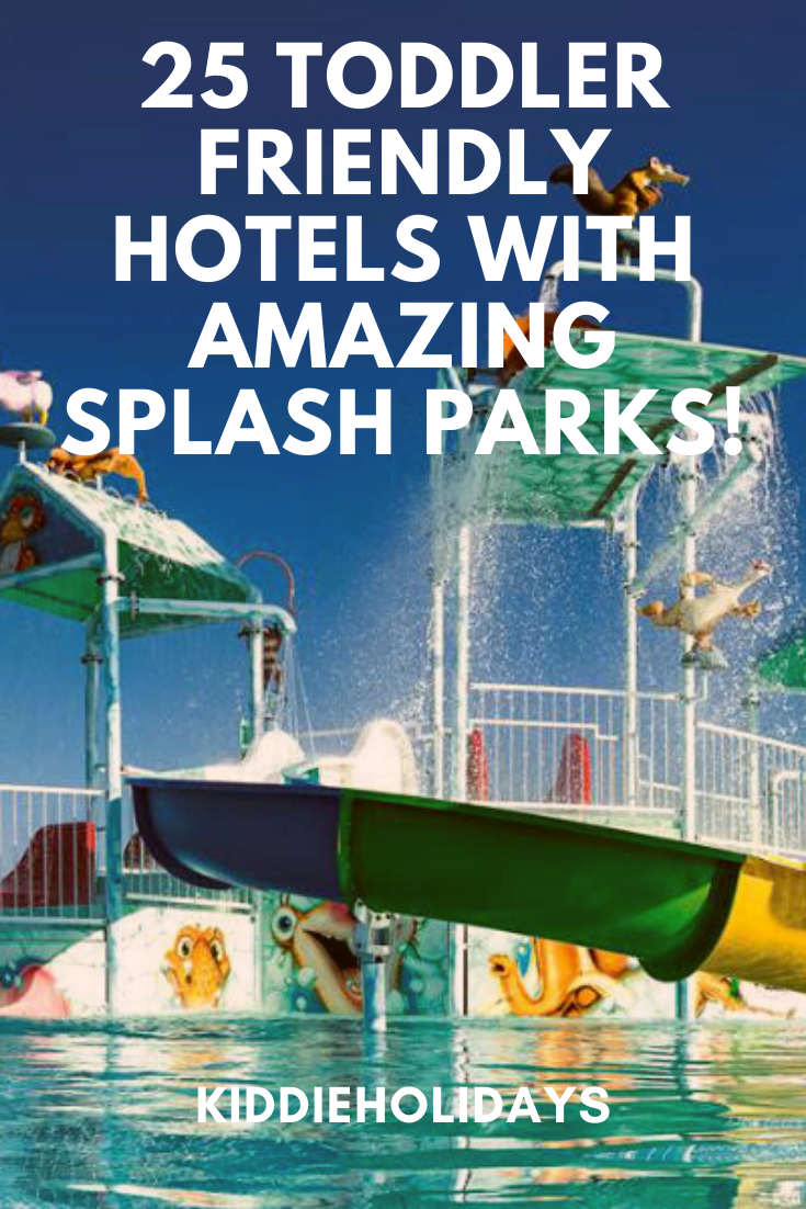 toddler friendly hotels with splash parks