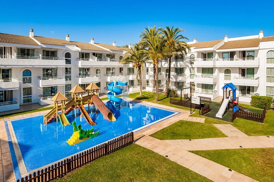 baby and toddler friendly apartments in pollensa, majorca