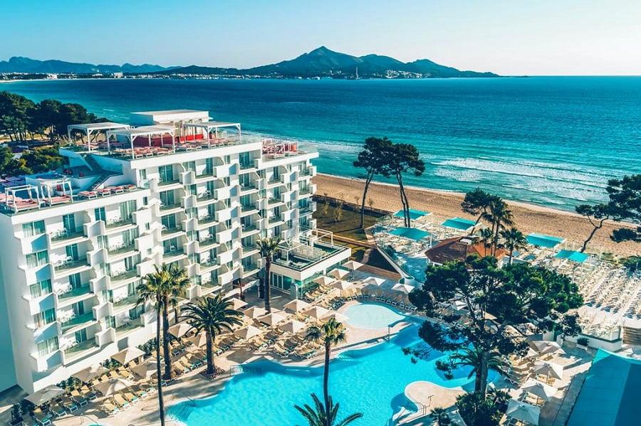 toddler friendly hotel in playa de muro, majorca