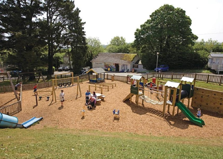 holiday park for babies and toddlers in cornwall