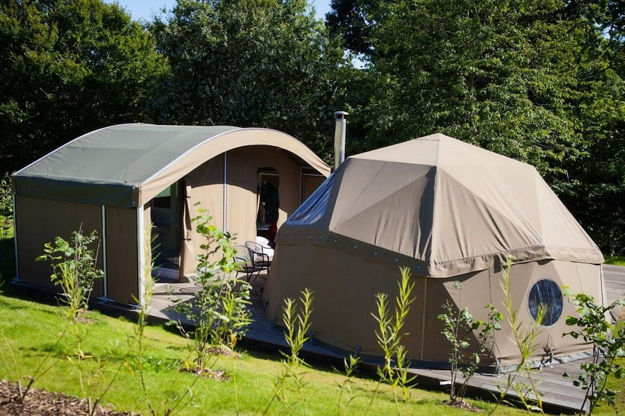 baby and toddler friendly glamping