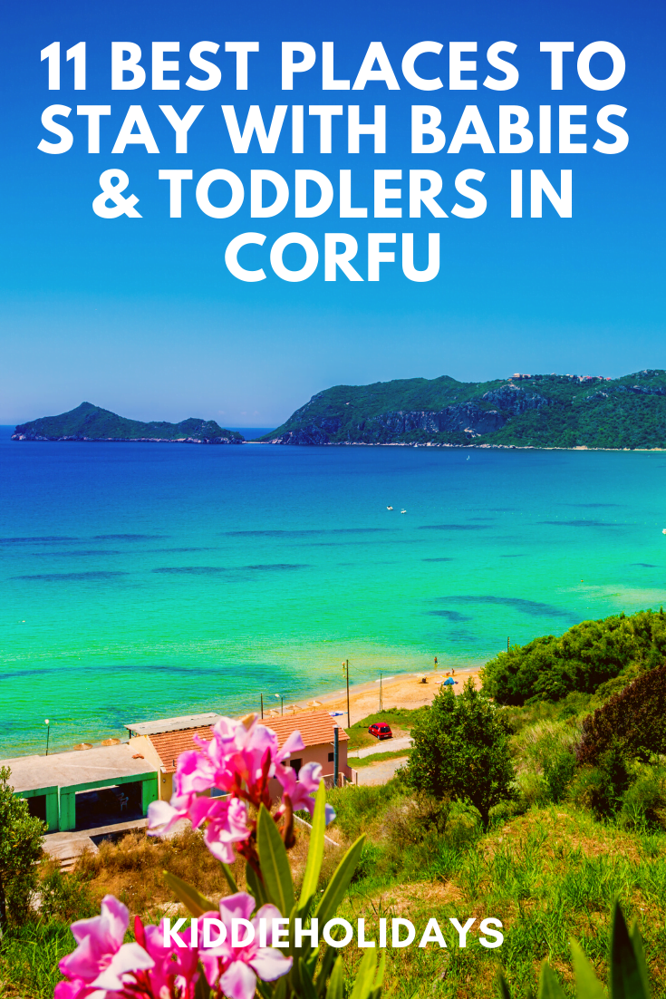 baby and toddler friendly place to stay in corfu