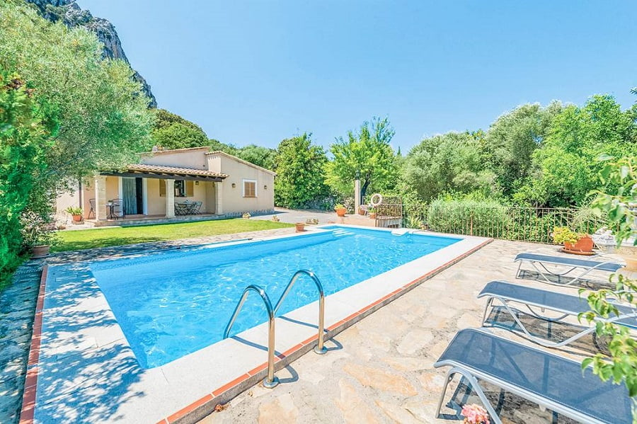 baby and toddler friendly villa majorca