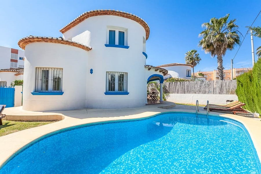 baby and toddler friendly villa costa blanca