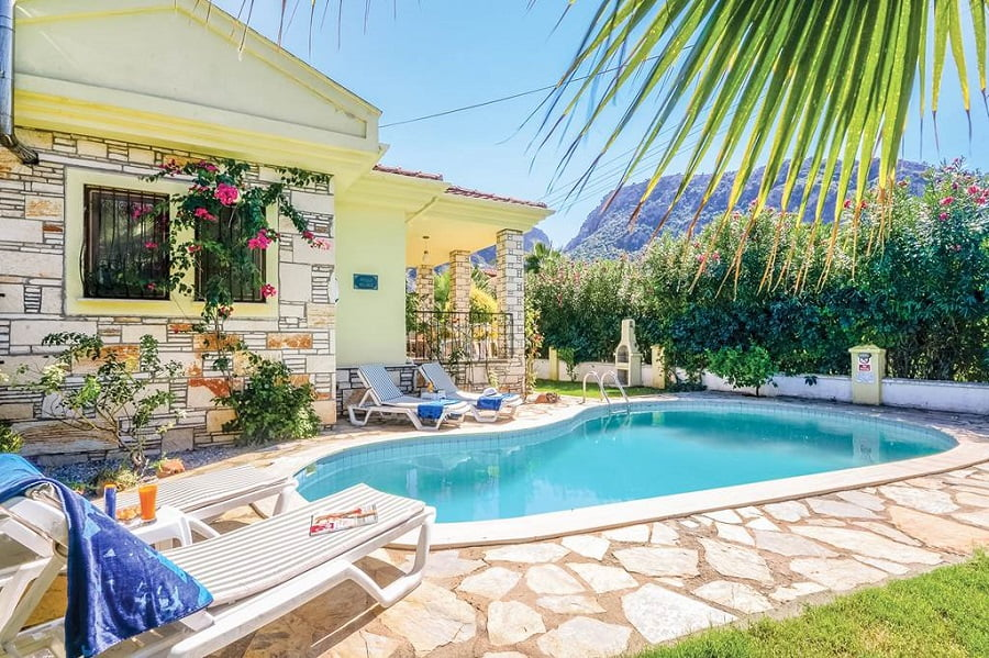 baby and toddler friendly villa in turkey