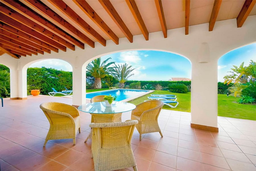 villas for toddlers in menorca
