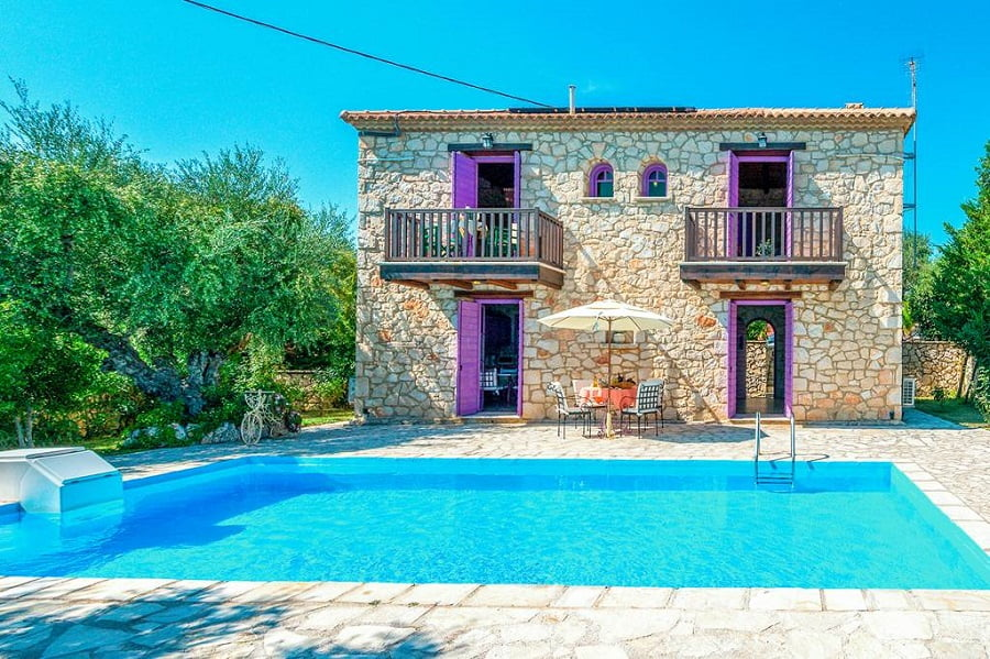 baby and toddler friendly villa in zante