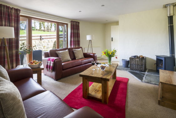 toddler friendly cottage with a swimming pool in cornwall