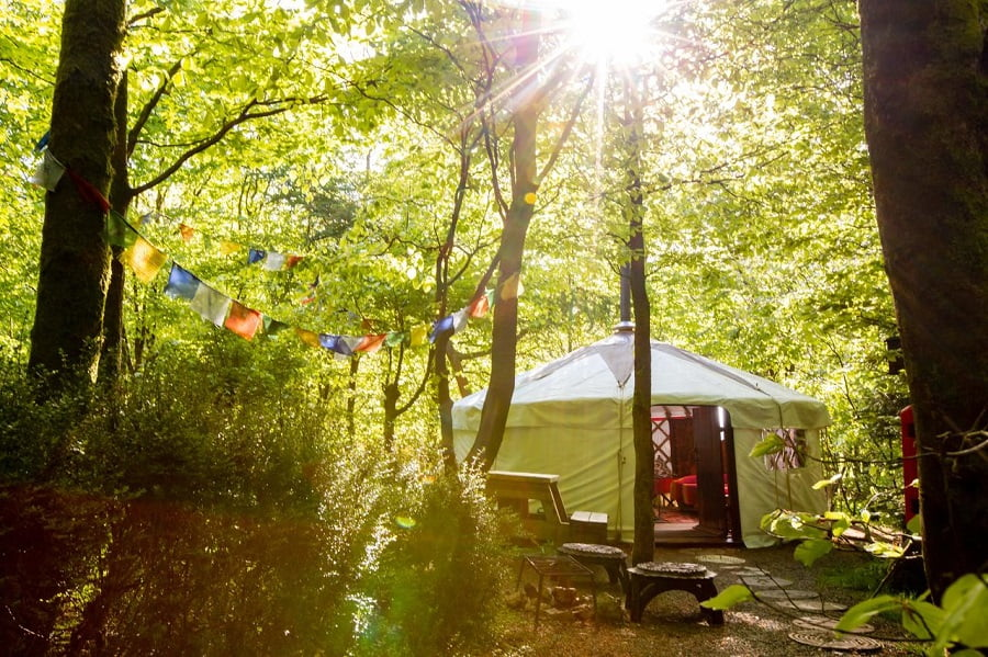 toddler friendly glamping