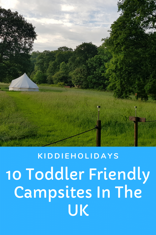 toddler friendly campsites uk