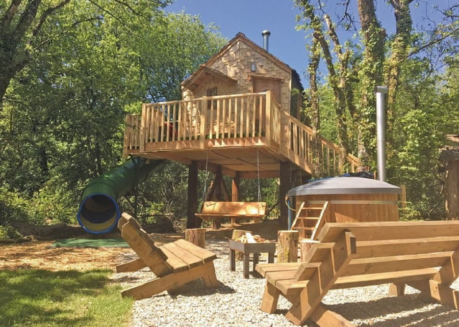 toddler friendly glamping site