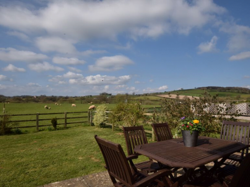 toddler friendly cottage with a swimming pool in devon