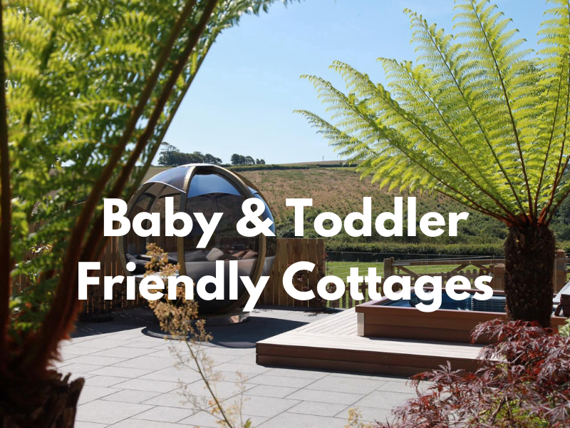 baby and toddler friendly cottages uk