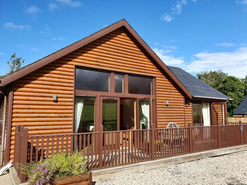 toddler friendly lodge in scotland
