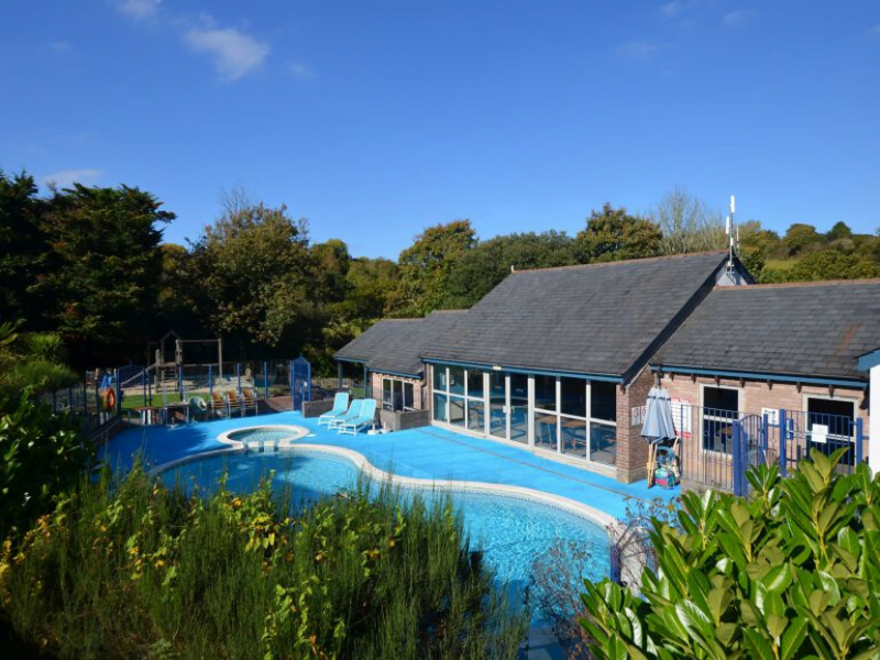 baby and toddler friendly cottage with swimming pool in cornwall
